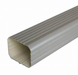 Descente De Gouttière Alu Rectangulaire : tube de descente 2m aluminium rectangulaire 60x80mm ~ Dailycaller-alerts.com Idées de Décoration