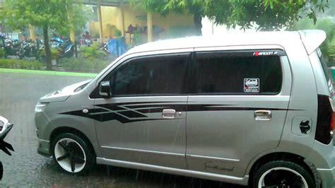 Suzuki Karimun Wagon R Gs Modification by Top Cutting Sticker Mobil Wagon R Terbaru Modifotto