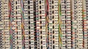 Stock Video Of Telephone Junction Boxes Cable Systems Due