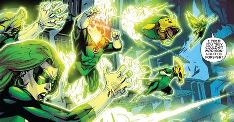 green lantern corps team comic vine