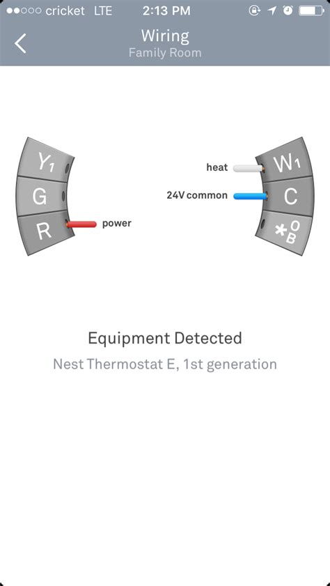 Heating Nest Thermostat Not Turning Heat Home