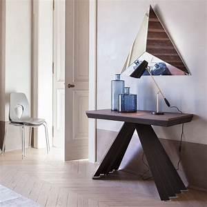 Console A Rallonge : ventaglio c 6509 table console rallonge tonin casa en m tal et m lamin disponible en ~ Teatrodelosmanantiales.com Idées de Décoration