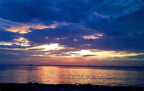 sunset  san fernando trinidad trinidad sunset san