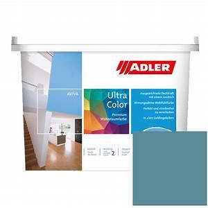 Gut Deckende Wandfarbe : mit adler dispersionsfarbe f r innen g nstig streichen ~ Watch28wear.com Haus und Dekorationen