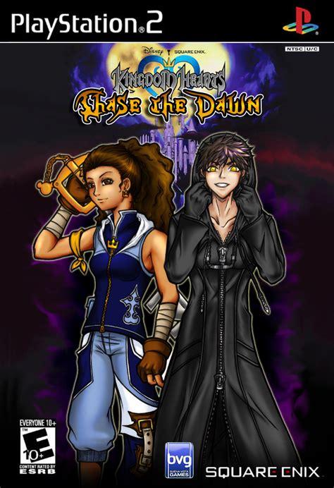 Kingdom Hearts Chase The Dawn By Burningartist On Deviantart