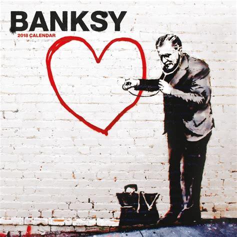 banksy for sale canada banksy 2018 wall calendar 841622108060 calendars com