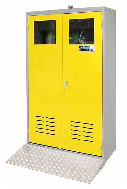 Gas Cabinet Cylinder Cabinets Protection Advancelab Durable
