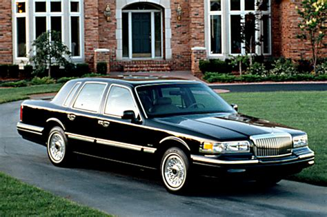 199097 Lincoln Town Car  Consumer Guide Auto