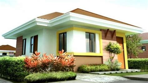 A Simple Modern Home With A Lot Of Personality Is For A And Their by Simple Bungalow Simple House Design In The Philippines