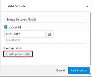 How do I add a module? | Canvas LMS Community