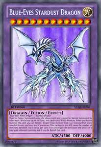 blue eyes stardust dragon by nero th on deviantart