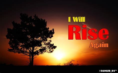 I Will Rise Again  The Author's Blog