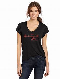 """Deliciously Hot Ladies """"V"""" Neck Tee - Infinity Sauces"""