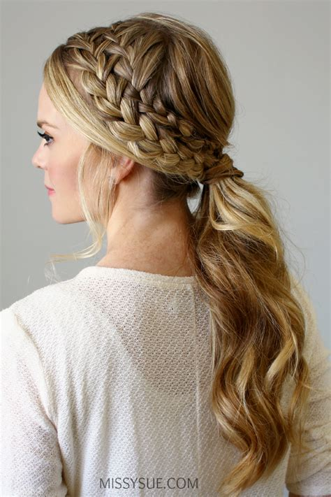 Ponytail Braid Hairstyles For by Braided Ponytail S World Ponytail