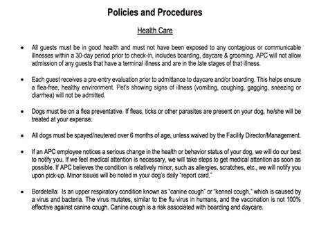 preschool policies and procedures policies pup culture 326