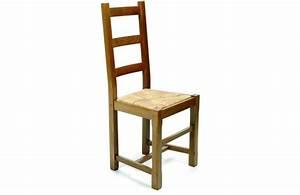 Chaise De Salle A Manger Rustique