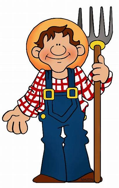 Farmer Clipart Transparent Occupations Clip Cliparts Ranching