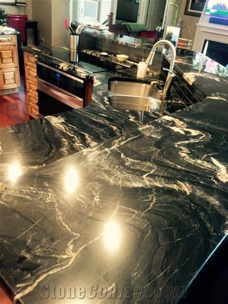 belvedere granite kitchen perimeter countertop peninsula