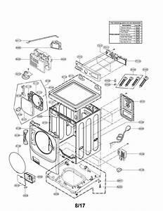 Lg Wm8100hwa Washer Parts