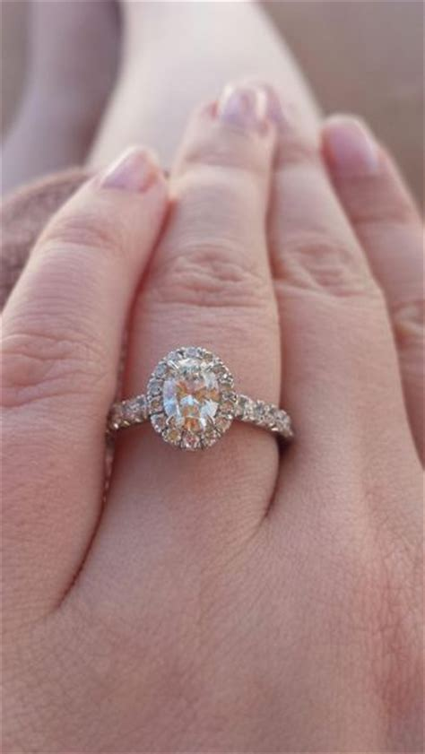 real e rings diamond oval engagement rings weddingbee