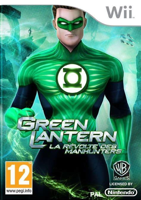 jeu de green lantern green lantern la r 233 volte des manhunters
