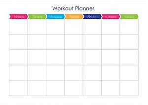 Ebooks inspire women39s fitness for Weekly fitness plan template