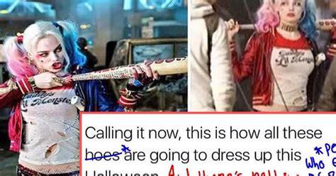 Meme Sexist - this person corrected a sexist suicide squad meme attn