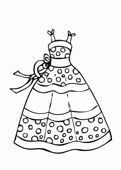 Coloring Robe Dessin Imprimer Princesse Colorier Printable