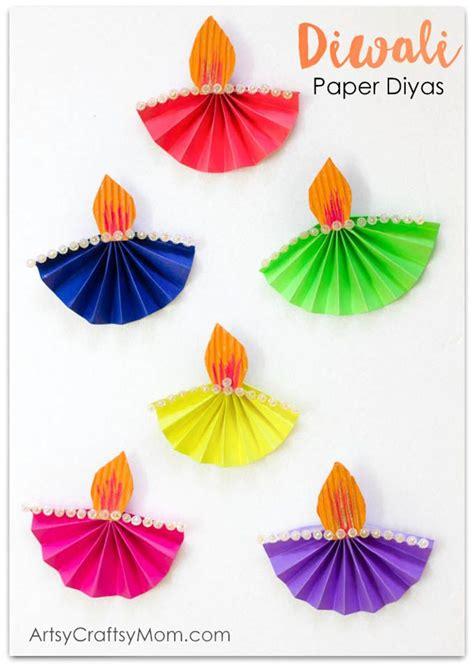 accordion fold diwali paper diya craft craft 871   598842ec2ab35afb5569e883700be794