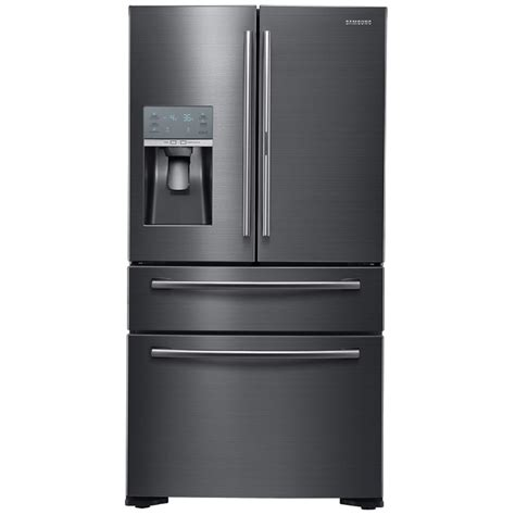 shop samsung food showcase 22 4 cu ft 4 door counter depth