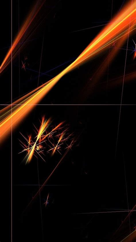Abstract Black Orange Wallpaper by Pattern Black Orange Wallpaper Sc Smartphone