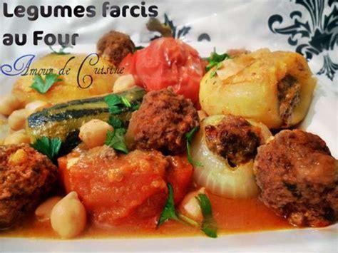 recette cuisine au four recettes de légumes farcis et plats