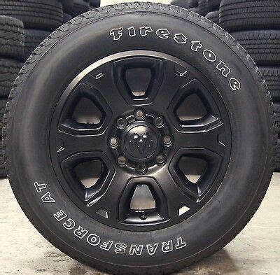 dodge ram    lug black  factory oem wheels