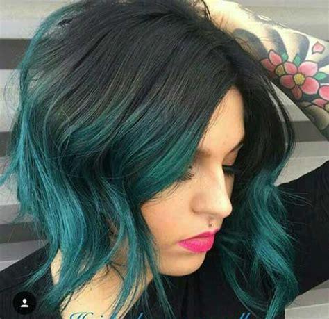 unique hair colors  short haircuts short hairstyles