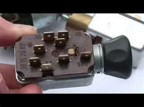 Nos Aircooled Headlight Switches Bus Type