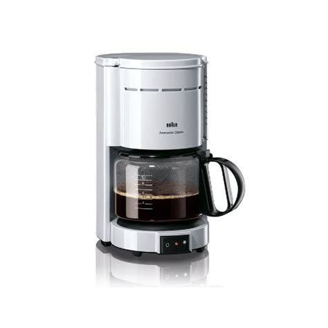 Kaffeemaschine Braun by Braun Kaffeemaschine Aromaster Kf 47 Wei 223 Karstadt