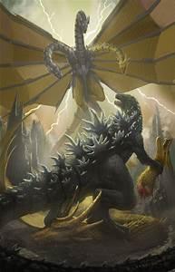 Godzilla Vs Mecha Ghidorah by NoBackstreetboys on DeviantArt