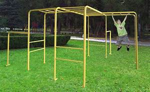 Cross Master Monkey Bars Playground Equipment from Cubbykraft