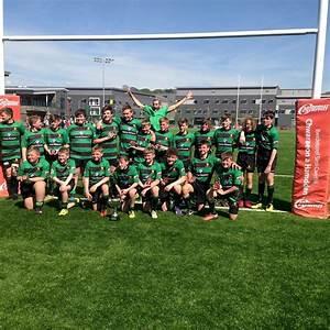 Caerleon RFC U13's – Winners of Gwent JDA Dragons Cup 2016