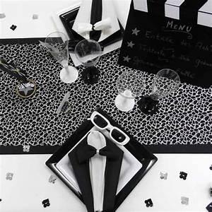 Deco Noir Et Blanc : d coration de table sur le th me noir et blanc ~ Melissatoandfro.com Idées de Décoration