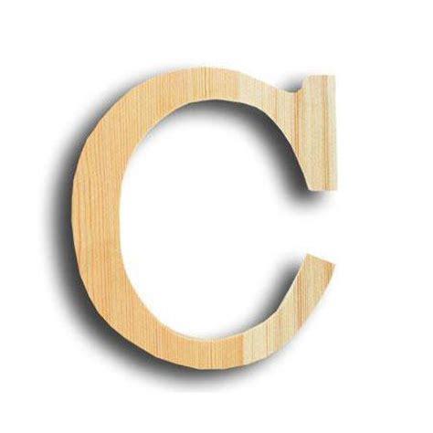 lettre cuisine en bois support à décorer en bois lettre petit modèle c 10 x
