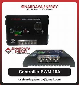 Jual Solar Charge Controller Pwm 10a 12  24v Dc