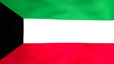 flag  kuwait royalty  video  stock footage
