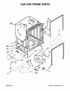 Kenmore Elite 66514815n611 Dishwasher Parts
