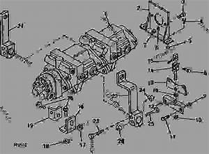 Hydrostatic Pump And Mounting Parts  D07