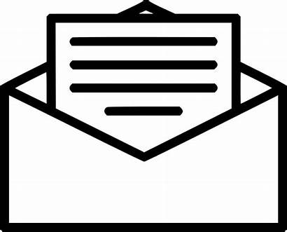 Letter Mail Clipart Message Clipground Cliparts Svg