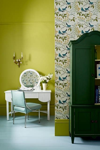 green feature wall ideas green feature wall ideas bedroom living room walls houseandgarden co uk
