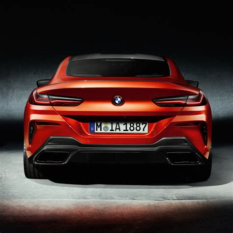 Downaload 2019, Bmw M850i Xdrive, Carbon Package, Rear