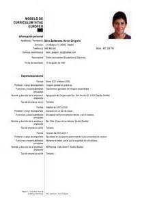 Curriculum Vitae Estudiante Universitario Sin Experiencia