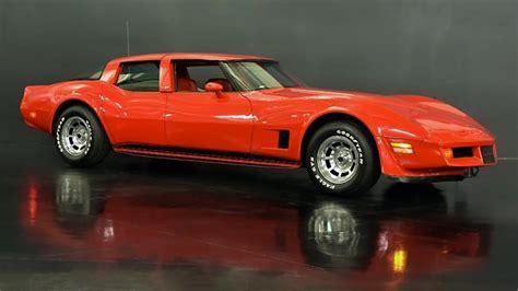 Four Door Corvette by Four Door Corvette For Sale At 214 884 Gm Authority